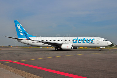 Corendon Airlines Boeing 737-8S3 WL TC-TJJ (msn 29247) (Detur Travel colors) AMS (Ton Jochems). Image: 906443.