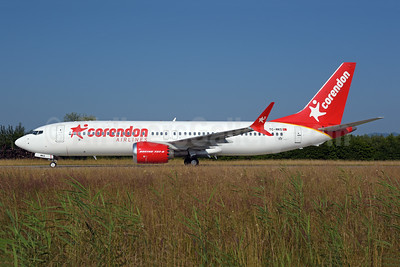 The first Boeing 737-8 MAX 8 for Corendon Airlines