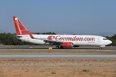 Corendon Airlines (Corendon.com) Boeing 737-8BK WL TC-TJP (msn 33022) AYT (Ton Jochems). Image: 948246.