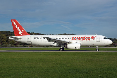 Corendon Airlines (Global Aviation) Airbus A320-231 ZS-GAZ (msn 081) ZRH (Rolf Wallner). Image: 947880.