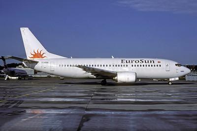 EuroSun Airlines Boeing 737-3K2 TC-ESB (msn 23412) ZRH (Rolf Wallner). Image: 928098.
