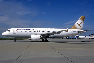 Freebird Airlines Airbus A320-214 TC-FBH (msn 4207) FRA (Christian Volpati Collection). Image: 933131.