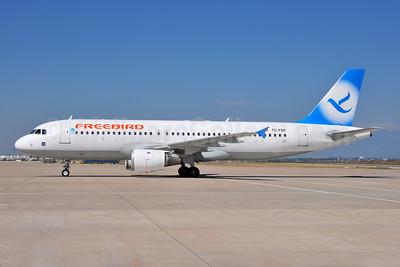 Freebird Airlines Airbus A320-212 TC-FBE (msn 132) AYT (Ton Jochems). Image: 954988.