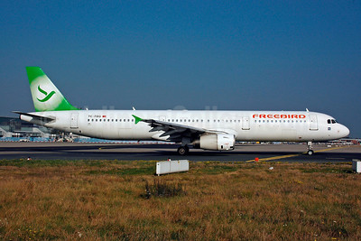 Freebird Airlines Airbus A321-131 TC-FBG (msn 771) FRA (Bernhard Ross). Image: 903694.