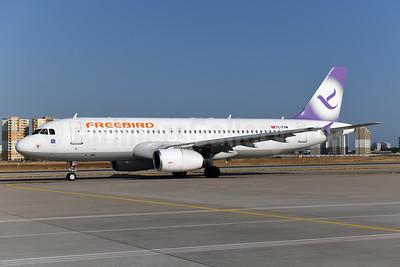 Freebird Airlines Airbus A320-232 TC-FHM (msn 3012) AYT (Ton Jochems). Image: 954990.