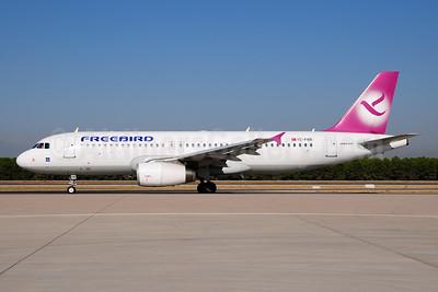 Freebird Airlines Airbus A320-232 TC-FBR (msn 2524) AYT (Ton Jochems). Image: 953908.