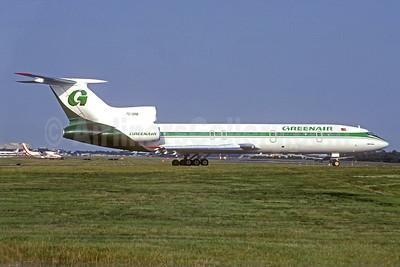 Greenair Tupolev Tu-154M TC-GRB (msn 833) LGW (Christian Volpati Collection). Image: 940902.