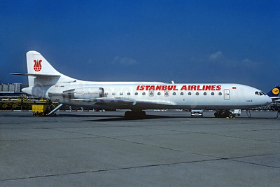 Istanbul Airlines Sud Aviation SE.210 Caravelle 10B1R TC-ARI (msn 235) FRA (Christian Volpati Collection). Image: 933604.