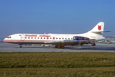 Istanbul Airlines Sud Aviation SE.210 Caravelle 10B1R TC-ALA (msn 250) ZRH (Christian Volpati Collection). Image: 933603.