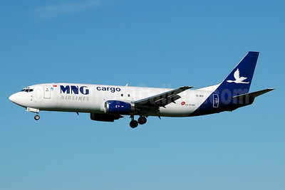 MNG Airlines Cargo Boeing 737-4K5 (SF) TC-MCF (msn 24126) MAN (Nik French). Image: 905627.