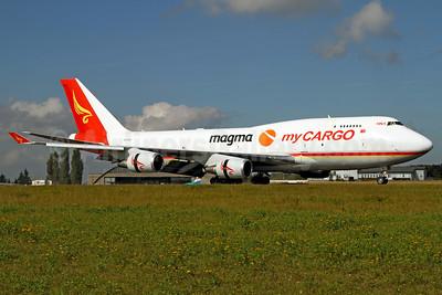 MyCargo Airlines-HNA-Magma Aviation Boeing 747-481 (F) TC-ACF (msn 25624) LUX (Rainer Bexten). Image: 909451.