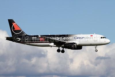 Onurair Airbus A320-233 TC-ODC (msn 3570) (ggmgastro.com) ZRH (Andi Hiltl). Image: 947767.