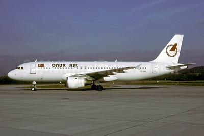 Onur Air Airbus A320-212 TC-OAD (msn 345) ZRH (Rolf Wallner). Image: 947272.