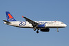 Onurair Airbus A320-232 TC-OBP (msn 496) (20th Year) AYT (Paul Denton). Image: 912261.