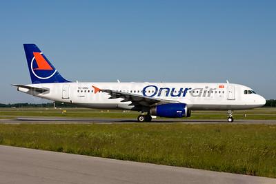 Onurair Airbus A320-232 TC-OBU (msn 661) MUC (Gunter Mayer). Image: 954519.