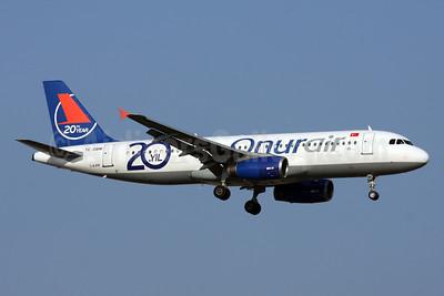 Onurair Airbus A320-232 TC-OBM (msn 676) (20th year) AYT (Andi Hiltl). Image: 912260.