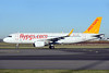 Pegasus Airlines (flypgs.com) Airbus A320-214 WL TC-DCM (msn 7200) AMS (Ton Jochems). Image: 935850.