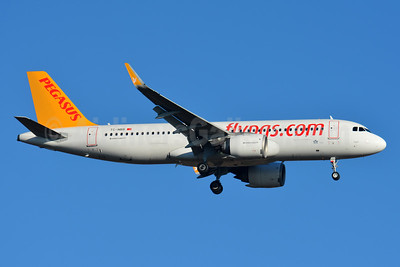 Pegasus' second A320neo, delivered on August 22, 2016