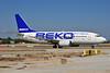 Pegasus Airlines Boeing 737-5Q8 TC-AAD (msn 28201 (Beko Home Appliances) AYT (Ton Jochems). Image: 905452.