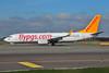 Pegasus Airlines (flypgs.com) Boeing 737-82R WL TC-AAH (msn 35701) AMS (Ton Jochems). Image: 902535.