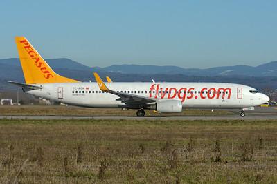 Pegasus Airlines (flypgs.com) Boeing 737-82R WL TC-ACP (msn 40697) BSL (Paul Bannwarth). Image: 937185.