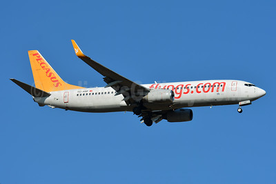 Pegasus Airlines (flypgs.com) Boeing 737-82R WL TC-ANP (msn 40722) BSL (Paul Bannwarth). Image: 945690.