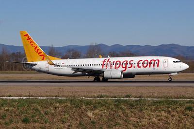 Pegasus Airlines (flypgs.com) Boeing 737-82R WL TC-AAI (msn 35699) BSL (Paul Bannwarth). Image: 937184.