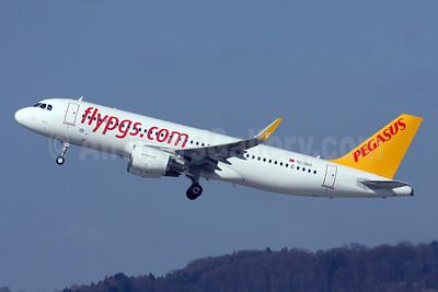 Pegasus Airlines (flypgs.com) Airbus A320-214 WL TC-DCC (msn 5950) ZRH (Andi Hiltl). Image: 922536.