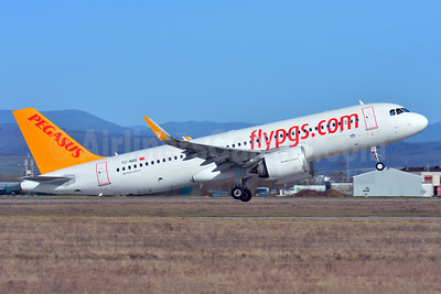 Pegasus Airlines (flypgs.com) Airbus A320-251N WL TC-NBE (msn 7380) BSL (Paul Bannwarth). Image: 937191.