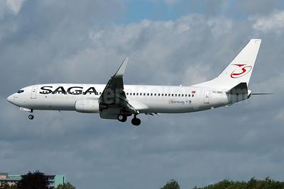 Saga Airlines Boeing 737-86J WL TC-SGH (msn 28068) MAN (Nik French). Image: 904372.