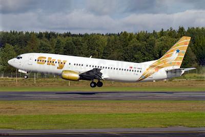 Sky Airlines (Turkey) Boeing 737-4Q8 TC-SKG (msn 25371) ARN (Stefan Sjogren). Image: 907188.