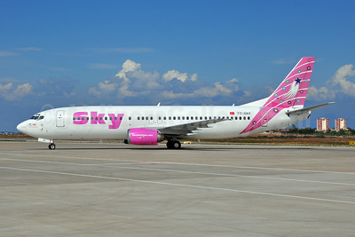 Sky Airlines (Turkey) Boeing 737-4Q8 TC-SKF (msn 26291) AYT (Ton Jochems). Image: 903720.