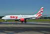 Sky Airlines (Turkey) Boeing 737-83N WL TC-SKR (msn 32576) (Adam and Eve) AMS (Ton Jochems). Image: 905188.