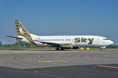 Sky Airlines (Turkey) Boeing 737-49R TC-SKM (msn 28882) AMS (Ton Jochems). Image: 902784.