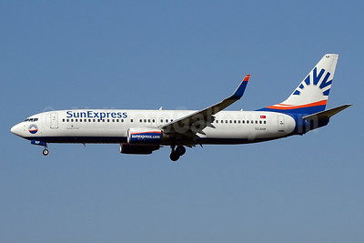 SunExpress Airlines Boeing 737-8CX WL TC-SNF (msn 36529) ZRH (Paul Bannwarth). Image: 929130.