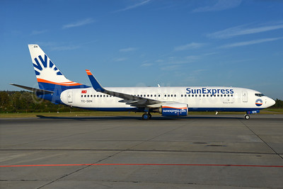 SunExpress Airlines Boeing 737-8HC WL TC-SEN (msn 61174) ZRH (Rolf Wallner). Image: 934998.