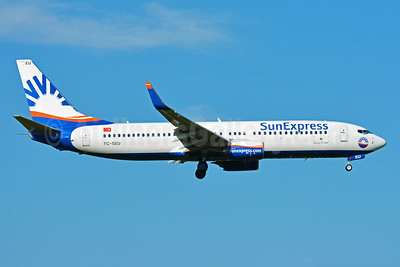 SunExpress Airlines Boeing 737-8HC WL TC-SEU (msn 61181) ZRH (Paul Bannwarth). Image: 934593.