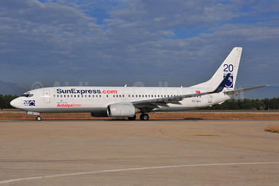 SunExpress Airlines Boeing 737-8CX WL TC-SUJ (msn 32368) (20 Years-Antalya/Izmir/Istanbul) AYT (Ton Jochems). Image: 903727.