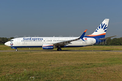SunExpress Airlines Boeing 737-8HC SSWL TC-SOA (msn 61184) ZRH (Rolf Wallner). Image: 943130.