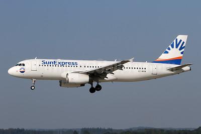 SunExpress Airlines (Avion Express) Airbus A320-232 LY-NVW (msn 2173) ZRH (Andi Hiltl). Image: 947077.