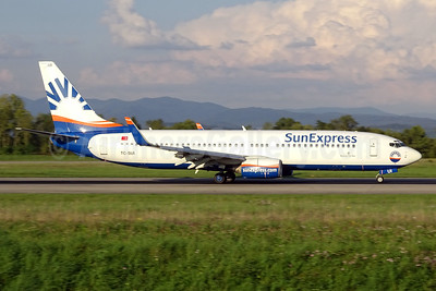 SunExpress Airlines Boeing 737-8CX WL TC-SUI (msn 32367) BSL (Paul Bannwarth). Image: 929131.