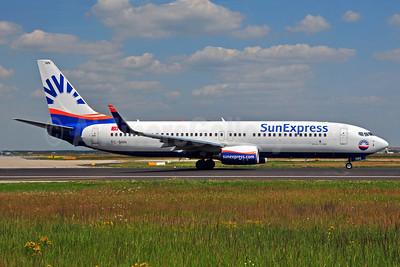 SunExpress Airlines Boeing 737-8HC WL TC-SNN (msn 40775) FRA (Ton Jochems). Image: 905198.