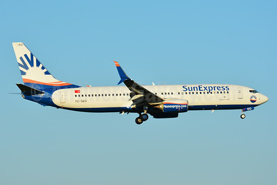 SunExpress Airlines Boeing 737-8HC SSWL TC-SEO (msn 61178) ZRH (Paul Bannwarth). Image: 939705.