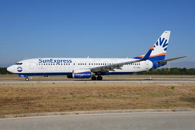 SunExpress Airlines Boeing 737-8HC WL TC-SNU (msn 40756) AYT (Ton Jochems). Image: 920727.