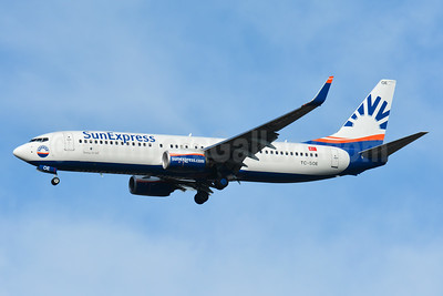 SunExpress Airlines Boeing 737-8HC WL TC-SOE (msn 61177) BSL (Paul Bannwarth). Image: 939165.
