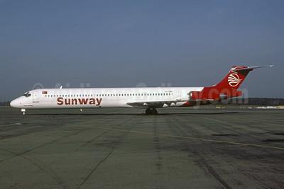 Sunway (Sunways Airlines) (Turkey) McDonnell Douglas DC-9-83 (MS-83) TC-INC (msn 49792) (Bruce Drum Collection). Image: 955346.