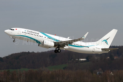 First Boeing 737-800 for Tailwind, delivered December 10, 2014