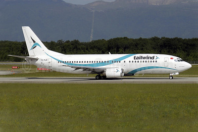 Tailwind Airlines Boeing 737-4Q8 TC-TLB (msn 25108) GVA (Paul Denton). Image: 909848.