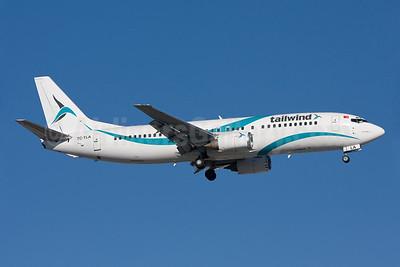 Tailwind Airlines Boeing 737-4Q8 TC-TLA (msn 25107) AYT (Ole Simon). Image: 903382.