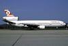 """First DC-10, named """"Istanbul"""", delivered December 11, 1972, in service December 16, 1972"""